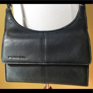 🆕Fossil Crossbody Genuine Learner wallet